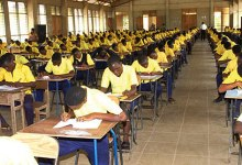 Photo of Students adhere to COVID-19 protocols as WASSCE starts in Upper West