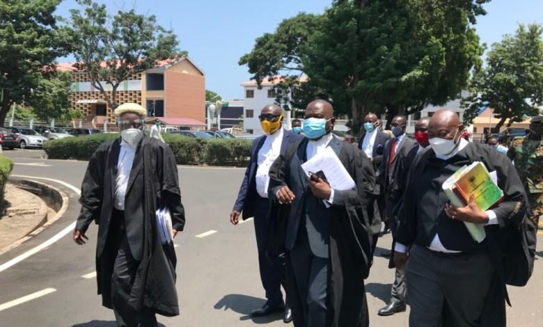 Tsatsu Tsikata and NDC legal team