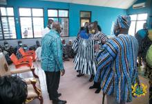 """Photo of Yagbonwura confers """"King of Promise Keepers"""" title on President Akufo-Addo"""