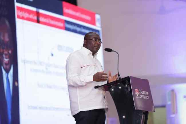Dr Bawumia at NPP 2020 Manifesto launch