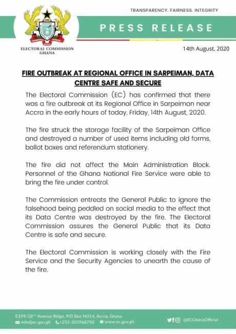 EC statement