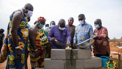 Photo of President Akufo-Addo lays foundation stone for construction of first machine tooling centre in Ghana
