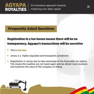 Agyapa Royalties explained 31