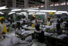 Manufacturing plant: garments