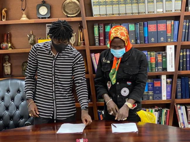 Sound Clash signing: Stonebwoy and Shatta