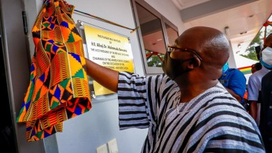 Photo of Vice-President Bawumia commissions infectious diseases centre at 37 Military Hospital