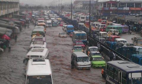 Accra floods, rainy season