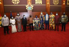 President Akufo-Addo and RTI Commission board