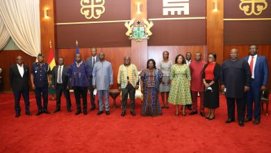 Photo of President charges board of Boundary Commission to protect Ghana's border interests