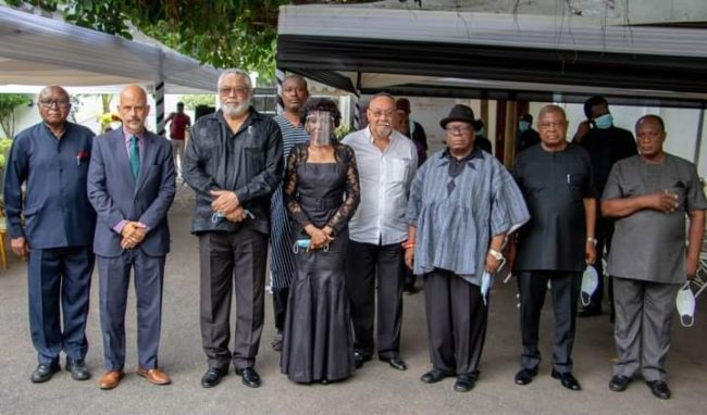 Diplomats mourn with Rawlings family, 9.2020
