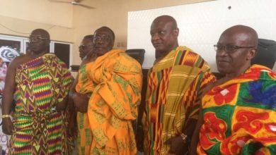 Photo of Togbe Tepre Hodo is president of Volta House of Chiefs