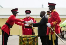 Akufo-Addo at Military Academy (Armed Forces)