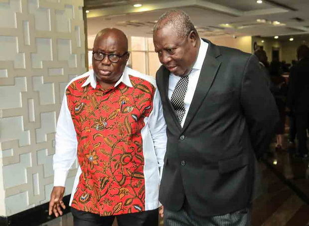 Martin Amidu and Akufo-Addo