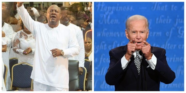 Biden and Mahama