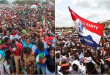 Politicians of both NPP and NDC have been talking about the survey