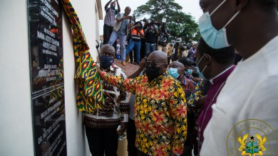 Photo of Akufo-Addo inaugurates KNUST-Obuasi campus