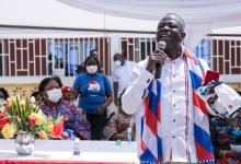 Photo of Former NDC chairman joins first lady to campaign for NPP