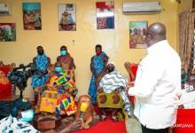 Sefwi chief and Bawumia