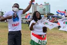 NDC and NPP supporters during the campaign season