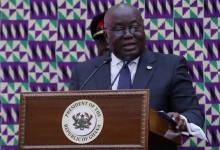 Akufo-Addo address parliament