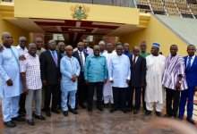 Akufo-Addo and regional ministers