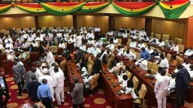 There was total chaos in Parliament prior to the selection of a Speaker