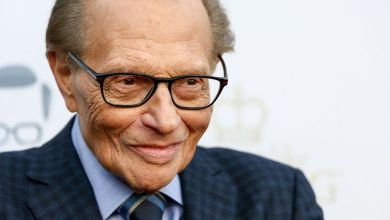 Larry King was famous around the world for his talk show