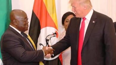 Trump and Akufo-Addo