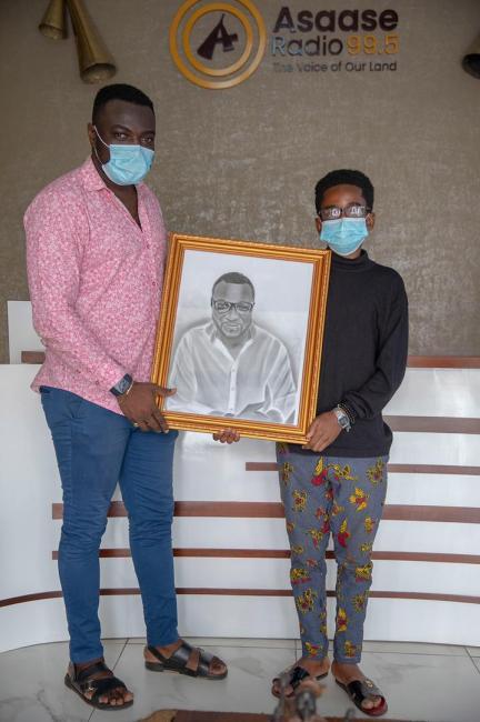 Asaase Radio's Abedi Anim and Ignatius Kyeremeh