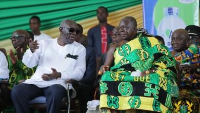 Former president J.A Kufuor and the Asantehene Otumfuo Osei Tutu II
