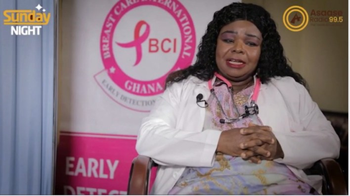 Dr Beatrice Addai, a breast cancer expert