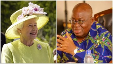 Akufo-Addo and Queen Elizabeth Prince Philip