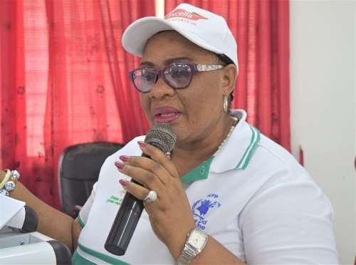 National Coordinator of the Ghana School Feeding Programme (GSFP), Gertrude Quashigah