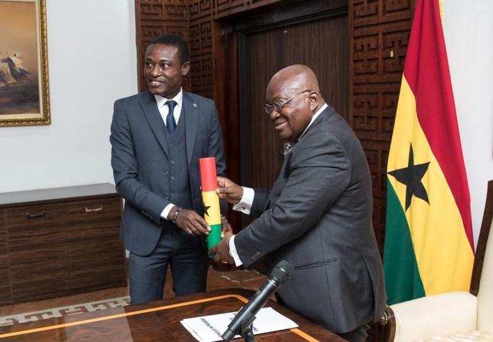 Kissi Agyebeng and Nana Akufo-Addo