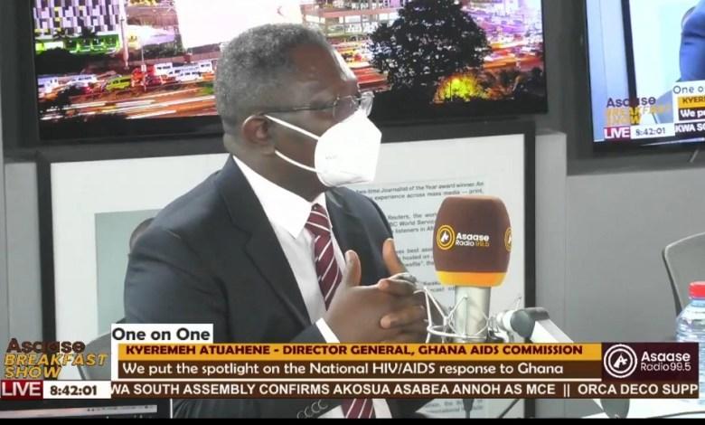 Steve Kyeremeh Atuahene, director general of the Ghana Aids Commission