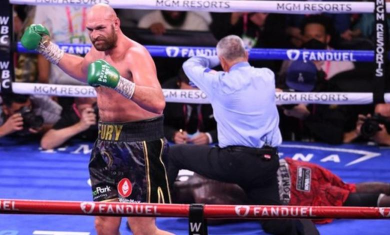 Tyson Fury delivered the knockout blow in the 11th round