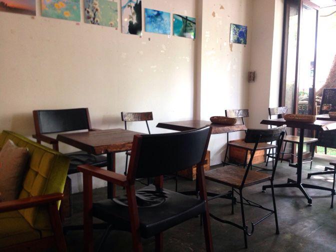 ケヤキカフェの店内席