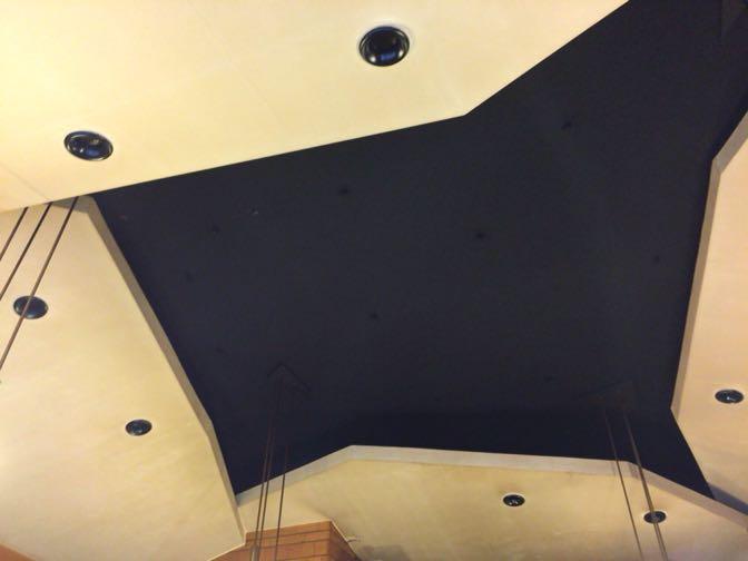 ドリアンの特徴的な天井