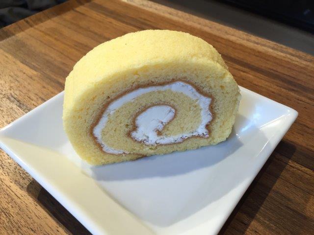 fluxcafeのロールケーキ