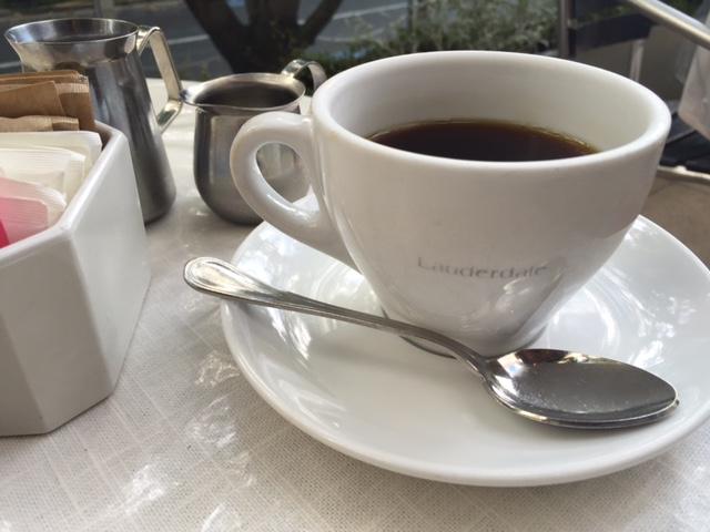 Lauderdaleホットコーヒー