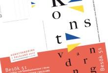 Folderomslag till Konstvandring i Dalsland