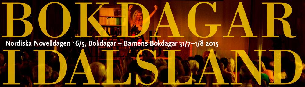 Bokdagar i Dalsland webbhead 2015