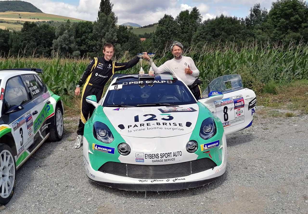 Raphaêl MARRY et Alexis MAGAND sur Alpine RGT au rallye du Trièves 2021