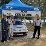 Patrick souvy et Jean-Jacques Revol au rallye de la Coutellerie 2021