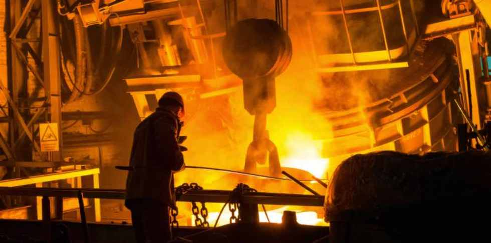 heavy industrial applications such as steel