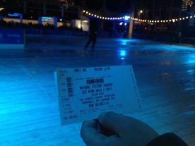 ingresso patinação gelo