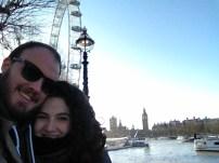 selfie big ben + london eye
