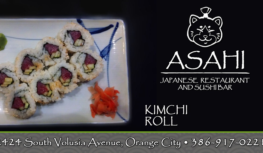 Try Our Kimchi Rolls!