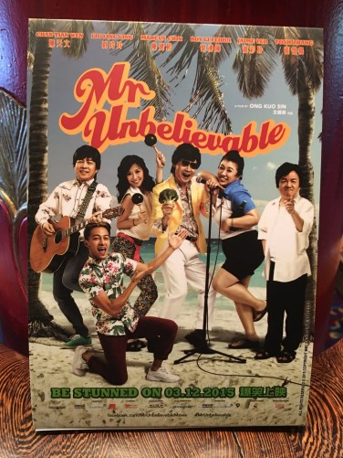 Movie poster for Mr Unbelievable