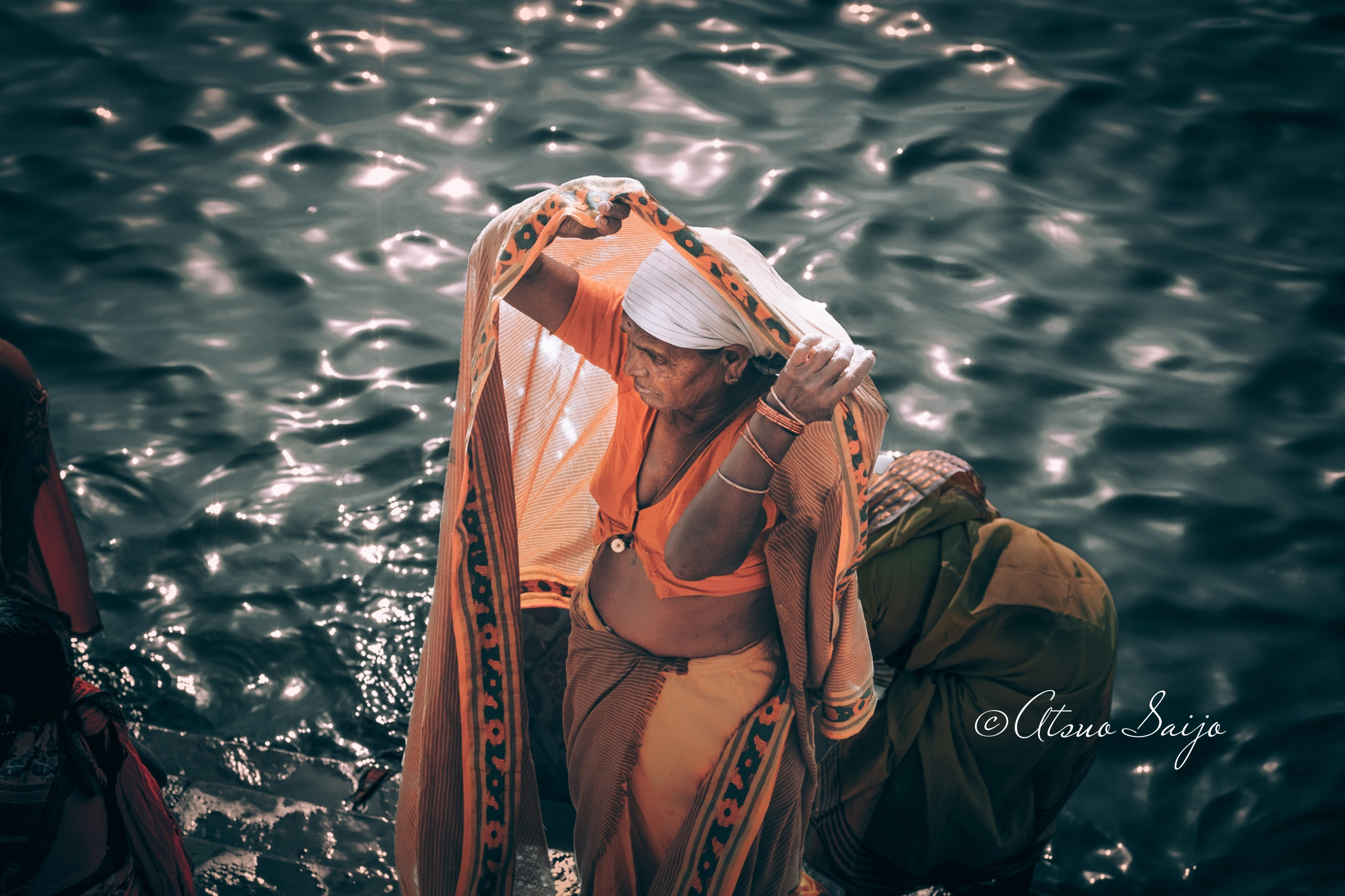 Ablution in the Ganges